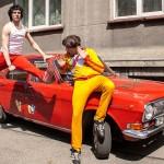 """Sarkanā Volga - loterijas galvenā balva saldējuma """"Klasika"""" mīļotājiem"""