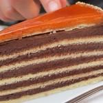 Ungārijas nacionālā Dobos torte