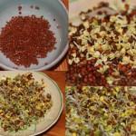 Diedzēšanai uzturam populārākās – redīsu un Ķīnas pupiņu sēklas
