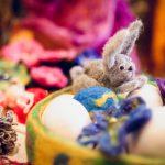 Tirdzniecības centrā Domina Shopping darbojas sirsnīgs rokdarbnieku Lieldienu tirdziņš