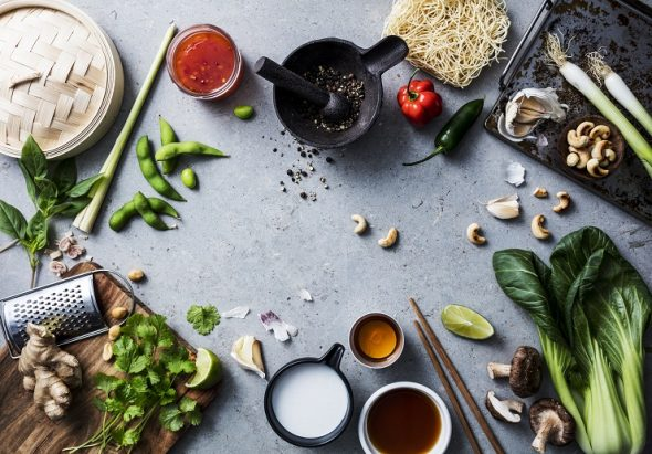 5 lietas bez kā nav iedomājama Āzijas virtuve