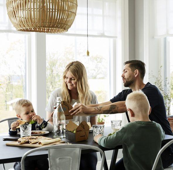 Ēdienkartes plānošana dažādo vakariņas un atvieglo produktu iegādi