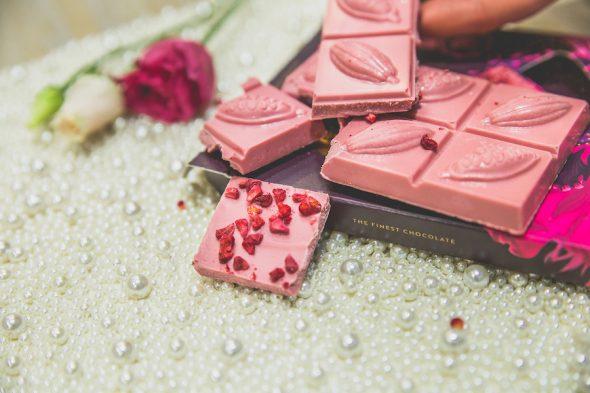 """Kā top """"Laimas"""" rozā šokolāde?"""
