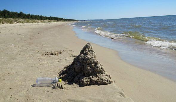 Jūrai un pludmalei vienmēr jābūt tīrai!