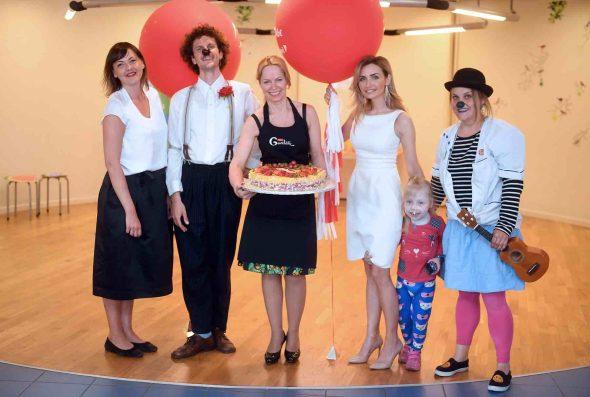 Labdarības akcijā ziedotie 68 190 eiro palīdzēs atklāt Dakteru Klaunu jauno skolu un turpināt ikdienas darbu slimnīcās